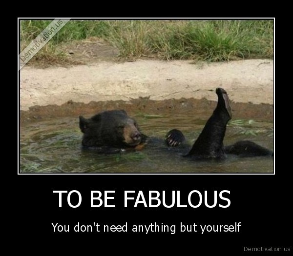 TO BE FABULOUS