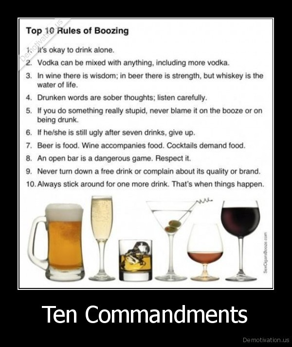 booze,rules,ten,the,drink