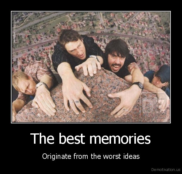 The best memories