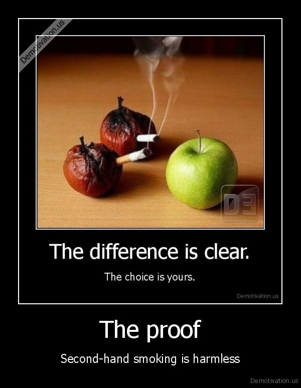 smoking,apples,choice