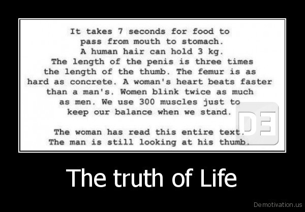 The truth of Life -