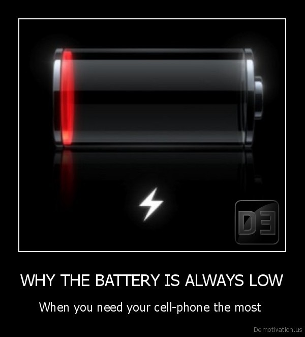 WHY THE BATTERY IS ALWAYS LOW