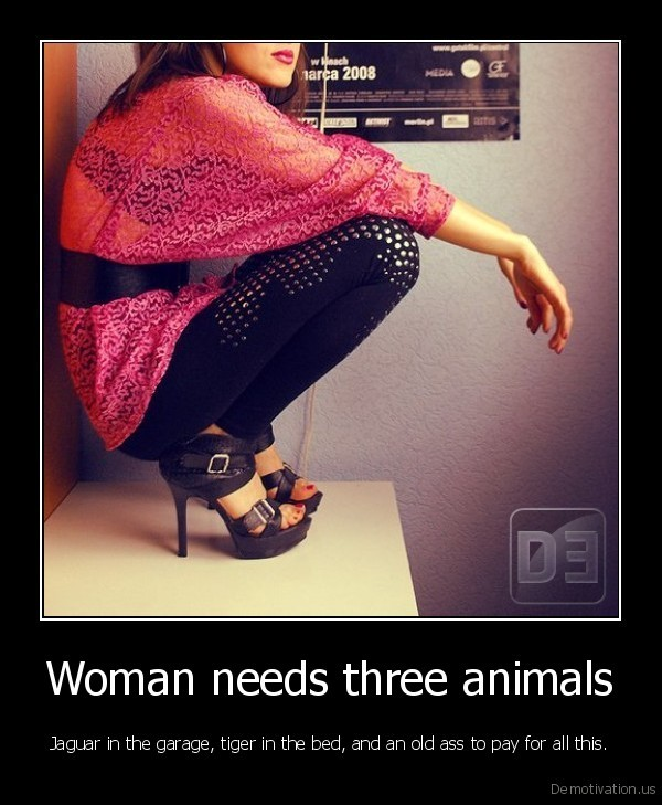 Woman needs three animals