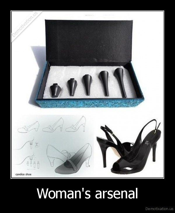 Woman's arsenal