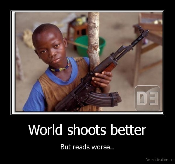 World shoots better