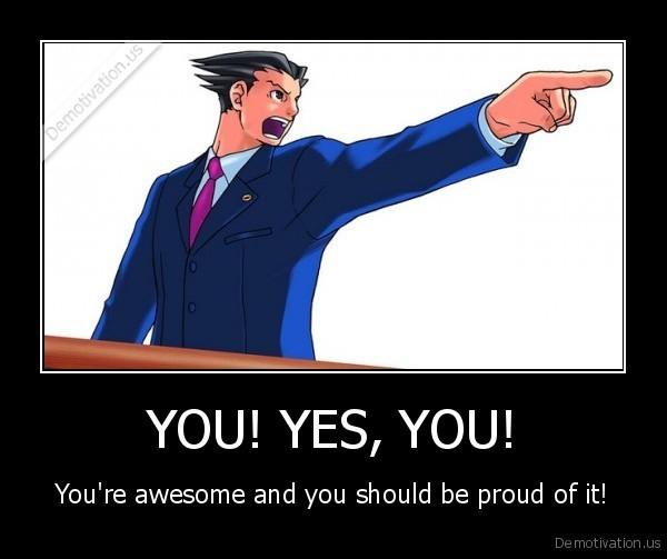 yes you are that awesome