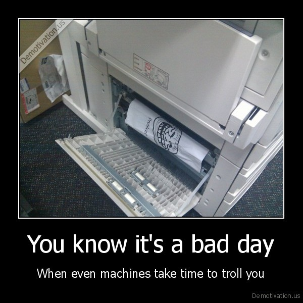 troll, face,funny, pictures,printer,broken, printer