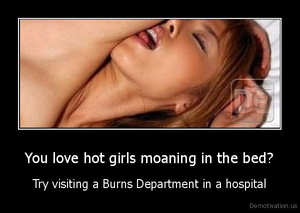 Moaning hot
