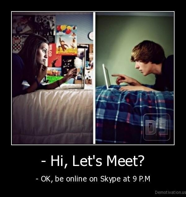 Lets meet online dating