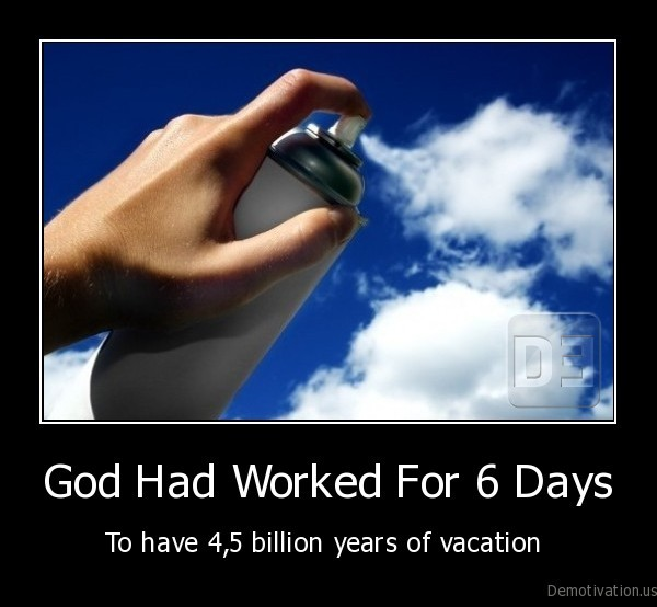 god,vacation,work