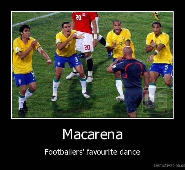 football,macarena,footballers