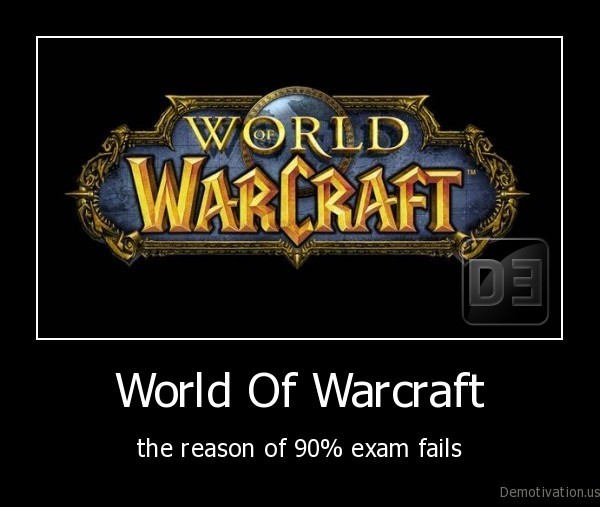 World Of Warcraft Demotivationus
