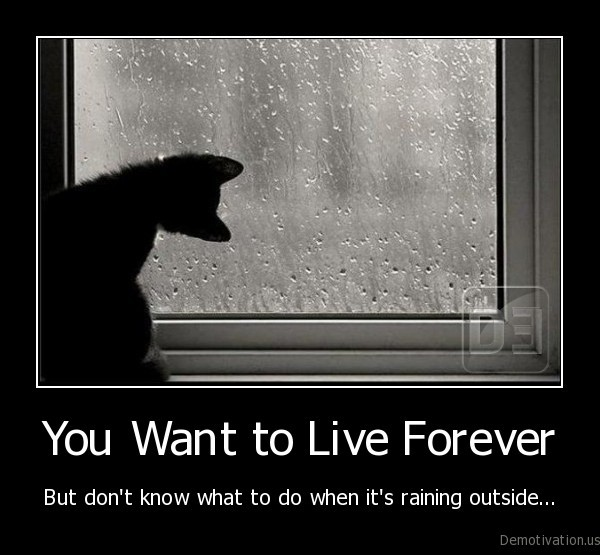 You Want to Live Forever
