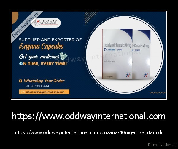 https://www.oddwayinternational.com - https://www.oddwayinternational.com/enzana-40mg-enzalutamide