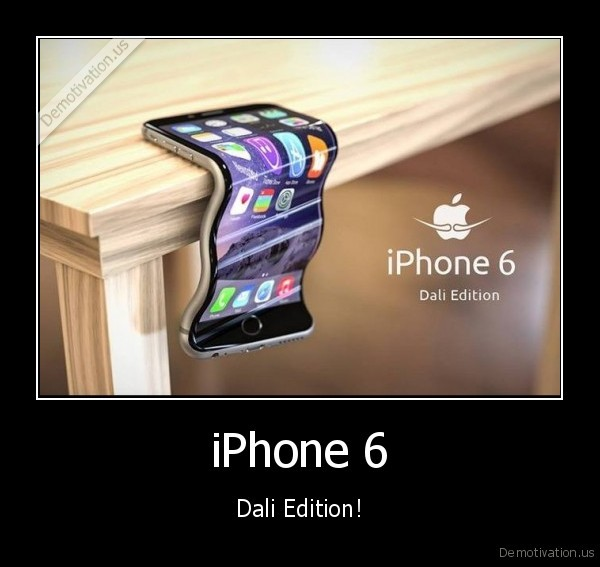 dali, iphone,iphone, curve