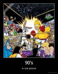 90's - in one picture