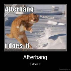 Afterbang - I does it