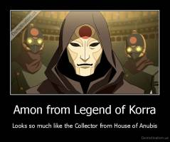 Amon from Legend of Korra - Looks so much like the Collector from House of Anubis
