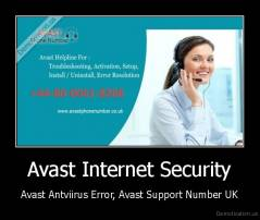 Avast Internet Security - Avast Antviirus Error, Avast Support Number UK