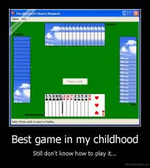 Best game in my childhood - Still don't know how to play it...