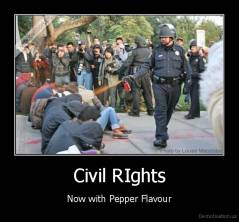 Civil RIghts - Now with Pepper Flavour