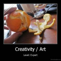 Creativity / Art - Level: Expert