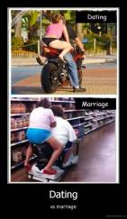 Dating - vs marriage