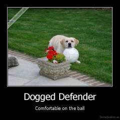 Dogged Defender - Comfortable on the ball