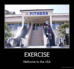 EXERCISE - Wellcome to the USA