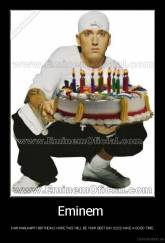 Eminem  - IVAN MAN,HAPPY BIRTHDAY,I HOPE THIS WILL BE YOUR BEST DAY 02/02 HAVE A GOOD TIME