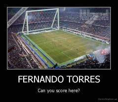 FERNANDO TORRES - Can you score here?