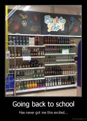 Going back to school - Has never got me this excited...