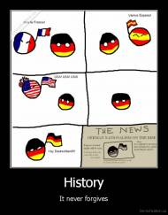 History - It never forgives