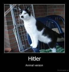 Hitler - Animal version