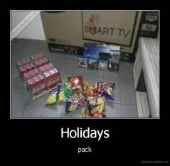 Holidays - pack