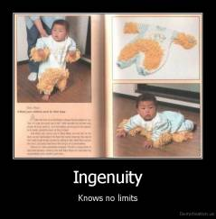Ingenuity - Knows no limits
