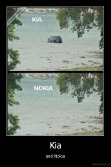 Kia - and Nokia
