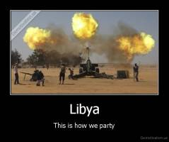 Libya - This is how we party