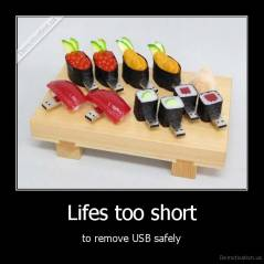 Lifes too short - to remove USB safely