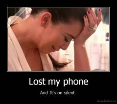 Lost my phone - And It's on silent.