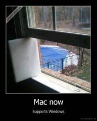 Mac now - Supports Windows