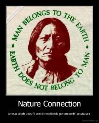 Nature Connection - A noun which doesn't exist in worldwide governments' vocabulary
