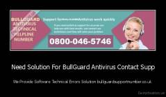 Need Solution For BullGuard Antivirus Contact Supp - We Provide Software Technical Errors Solution bullguardsupportnumber.co.uk