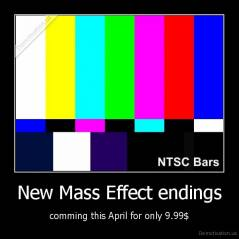 New Mass Effect endings - comming this April for only 9.99$