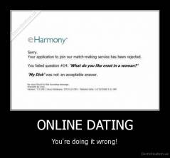 Online Dating You Re Doing It Wrong