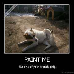 PAINT ME - like one of your French girls