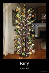 Party - X-mas tree