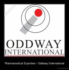 Pharmaceutical Exporters - Oddway International -