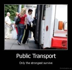 Public Transport - Only the strongest survive