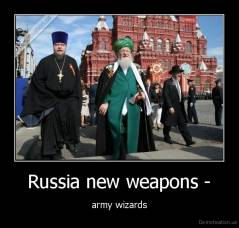 Russia new weapons - - army wizards